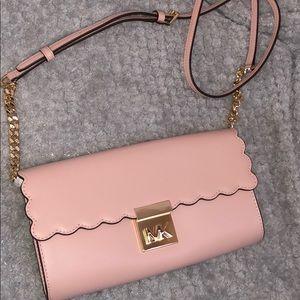 Gorgeous light pink Michael Kors bag